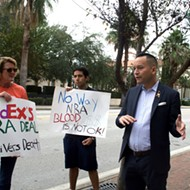 Orlando gun reform activists call on FedEx to end discounts for NRA members