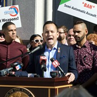 Pulse survivors join lawmakers, gun reform advocates to support ban on assault weapon sales