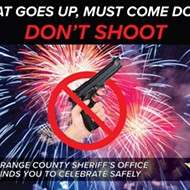 Orange County sheriffs make the reasonable request that you not shoot guns in the air like a bunch of damn fools this 4th of July