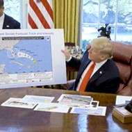 White House map of Hurricane Dorian confused everyone on Twitter