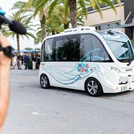 Lake Nona's new self-driving buses move slower than your grandma on cough syrup