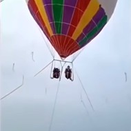 A mother and her 3-year-old fell to their deaths from a hot-air balloon ride in China. Could it happen in Orlando?