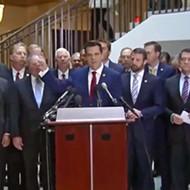 Florida Congressman Matt Gaetz recorded video of himself storming a sensitive national security facility
