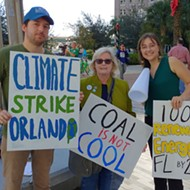 Orlando's 'Fridays for Future' again descends on City Hall for a climate strike