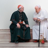 'The Two Popes' brings Benedict and Francis into semi-fictional focus at Maitland's Enzian