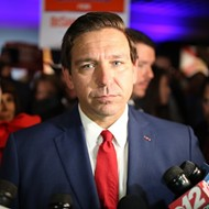 Florida Gov. Ron DeSantis won't talk about texts with donor indicted for foreign influence of U.S. elections