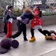 This brawl between knockoff Disney characters is giving us life