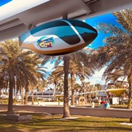 A company wants to build a futuristic pod transit system in Florida