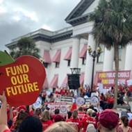 Central Florida educators bring Tally rally to Lake Eola Park this weekend
