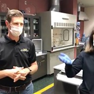 Orange County Sheriff's Office gave a live online video tour of their forensics unit