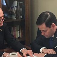 Florida Sen. Marco Rubio, like Rick Scott, also thinks unemployed people make too much money