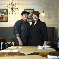 Sette in Ivanhoe Village has been eighty-sixed, but Va and Trina return to Food Network with Guy Fieri this week