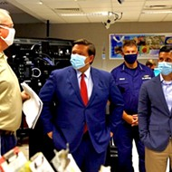 Amid record-high COVID-19 rates, Florida Gov. Ron DeSantis says masks should be voluntary