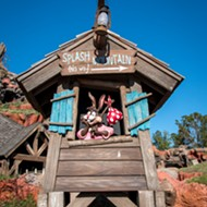 Splash Mountain to be re-branded based on Disney film 'The Princess and the Frog'