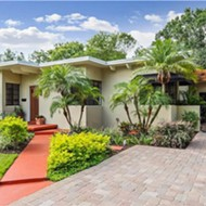 The original 1939 'Superock' model house is now for sale in Florida