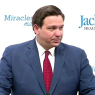 Brushing aside Florida's record-setting coronavirus infections, Gov. DeSantis says percentage 'has finally started to decline'