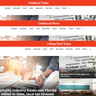 Hundreds of fake conservative 'news' websites pretend to be local, with more than a dozen around Orlando