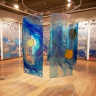 Mira Lehr creates art with gunpowder, rope, mirrors – whatever it takes to draw attention to our warming seas