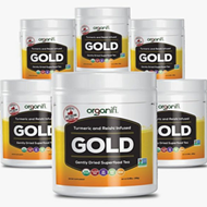 Organifi Gold Review: Organic Herbal Tea Turmeric Supplement