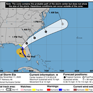 DeSantis expands state of emergency orders in Florida as 'erratic' Eta wanders toward the west coast