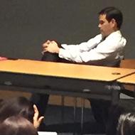 Protesters interrupt senator Marco Rubio's class at FIU