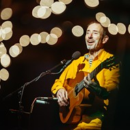 Cult favorite Jonathan Richman puts on a show for the early birds at the Social
