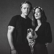 Royal Americana couple Jason Isbell and Amanda Shires play downtown Orlando's Frontyard Festival on Thursday