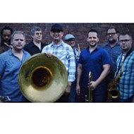 Brown Bag Brass Band launches strong new weekly run of Plaza Live's Front Porch Series on Thursday