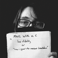 Orlando indie-pop hero Marc With a C releases new album today ahead of Saturday's virtual release performance