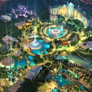 Work resumes on Universal Orlando's Epic Universe theme park project