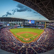 Miami's Marlins Park welcomes our cleanliness overlords with disinfectant drone program