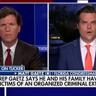 Florida Rep. Matt Gaetz floats DOJ extortion plot in bizarre 'Tucker Carlson Tonight' interview about sex trafficking investigation