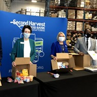 Second Harvest Food Bank will provide up to 115,000 meals a week, thanks to newly opened Mercy Kitchen