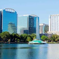 The number of tourists visiting Orlando fell by more than half in 2020, per report