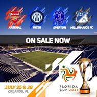 Arsenal, Everton, Inter Milan coming to Orlando for Florida Cup this summer