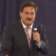 MyPillow Guy Mike Lindell says 'cyber guys' will make sure Trump is president by this fall during Tampa rally