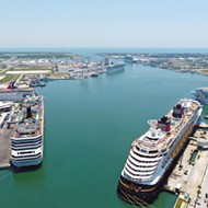 Port Canaveral has been busy fixing up Disney Cruise Line's terminal during pandemic hiatus