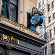 A cool new Harry Potter attraction just opened, but this time it's not at Universal Studios