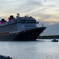 Disney Cruise Line set sail from Port Canaveral for the first time since the pandemic shutdown