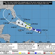 Orlando is in the cone of uncertainty for potential Tropical Storm Fred