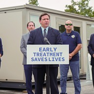 Gov. Ron DeSantis opens COVID-19 antibody treatment site in Orlando