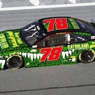 Gatorland is sponsoring a race car for Daytona's Coke Zero 400