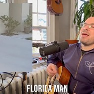 Someone wrote a song about the Florida man who trapped an alligator in a trash can