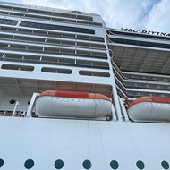 Adults seeking an escape from Orlando's pixie-dust attractions may enjoy a cruise on the MSC Divina