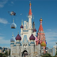 Cinderella castle gets Russian makeover to welcome Trump to Hall of Presidents