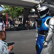 New talking robot character debuts at Magic Kingdom