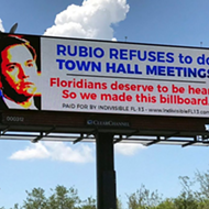 This billboard makes a reasonable point about Marco Rubio