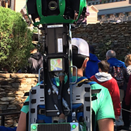 Google Street View cameras spotted in the new Pandora: The World of Avatar land