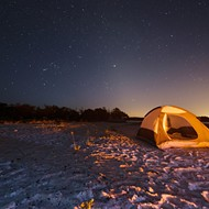 Find great beach camping to the north, south, east and west of Orlando