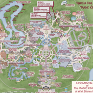 This 'Judgmental Map' of Magic Kingdom is pretty accurate